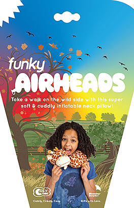 Funky Airheads Wrap